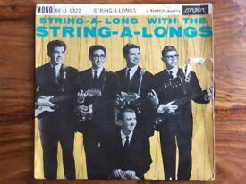The String A Longs EP - Wheels - 1962