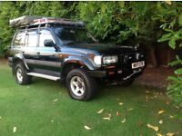 Toyota Land Cruiser Hannibal Tent fully prepared