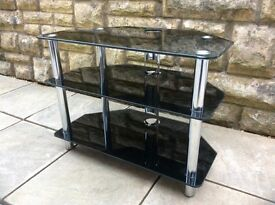 High Gloss Black TV Cabinet