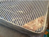 Brand new single divan bed, still in wrapper,