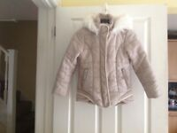 Girls age 9 year coat from Next