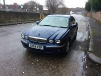 CHEAP JARUAR XTYPE ON A 04 PLARE AT ONLY £695