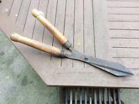 Old Garden Hand Shears Very Sharp