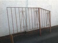 Wrought Iron Step/Slope Railing