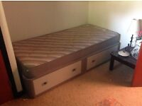 Single Divan Bed with Drawer Base (3ft)