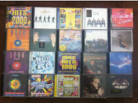 job lot cds and dvds