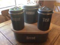 Kitchen Tin Storage Set