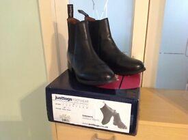 Justtogs ladies jodhpur boots