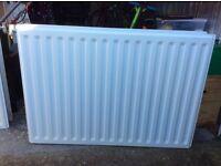 2x Double panel double convector radiator 600x900