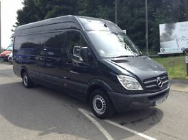 2013 Mercedes sprinter 313cdi blue efficiency lwb with start stop in met black 1 owner from new