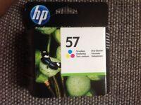 HP inkjet print cartridge tri-colour 57