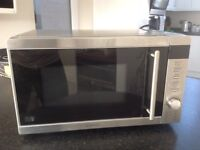 Kenwood 20 litre stainless steel 750/800 microwave oven in good working order