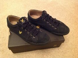 BNWB - Men's Lyle and Scott canvas shoes