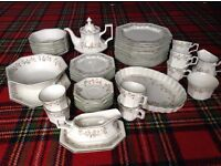 Eternal Beau.Collectable extensive Full Dinner and coffee/tea service