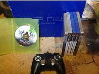 Ps2 with games and controller