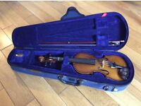 Stentor Student Violin & bow. Size 1/8. In hard case