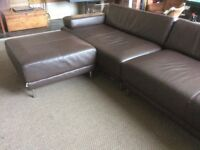 HABITAT Scala. Large leather sofa - can deliver