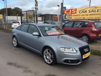 Audi A6 Le Mans special edition 2.0 tdi diesel SLine 2010 oneowner 52000 fsh mot.d fullyserviced px