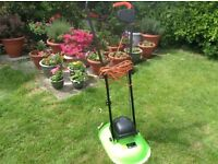Rotary hover mower