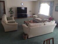 Set of three Marks & Spenser large three seater sofas