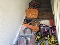 Hand bags lot