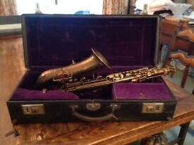 Buescher saxophone 1927/1928 Serial no. 225219