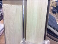 Laminate flooring, 2 packs, 2.24 per pack, totalling 4.84 metres, bargain £10