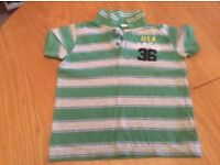 Children's 'Benetton' Polo Shirt. Age 4-5 Years.