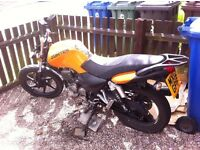 50cc Scooter ( Direct Bikes ) Spare or Repair - Zontes Panther 125cc Spare or repair