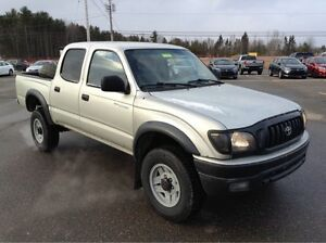 2001 Toyota Tacoma Double Cab 4x4! V6! RARE, SOLID, As-Is Sale!