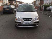 Low mileage 34000 miles Hyundai AMICA 1.1 CDX 5dr hatchback petrol manual 2007 full history £895