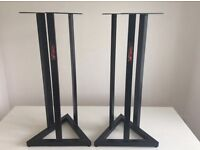 QUIK LOK FIXED HEIGHT SPEAKER STANDS (90cm)