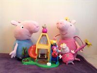 PEPPA PIG SOFT TOYS, PLAYPARK & FIGURES