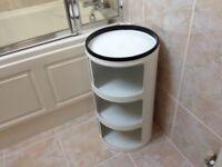 Bathroom stand alone storage cabinet