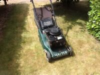 Hayter Harrier 41 Autodrive self propelled with roller £100