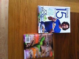 Joe wicks the shape plan book and barbecue cookbook