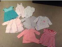 Large bundle 0-3months clothes
