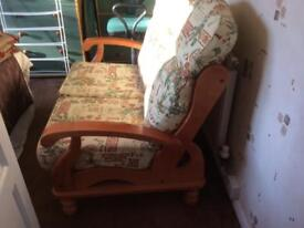 2 seater casual settee
