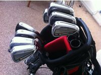 TaylorMade RBZ Tour irons in excellent condition