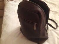 Esprit leather rucksack