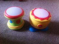 2 baby drums