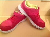 Girls Pink Nike trainers