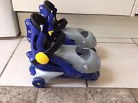 Fisher price inline skates with box and extras - only £3!