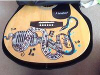 Westfield folk acoustic guitar