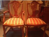 4 dining chairs .... need extra dining chairs for Christmas ?