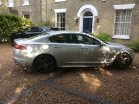 JAGUAR XF V6 DIESEL,full service history from new,mot April 2019