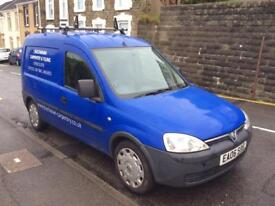 Vauxhall combo 06 plate for repairs