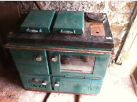 Stanley Superstar Solid Fuel Range Cooker with Boiler AGA Rayburn Stove