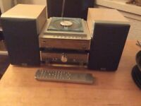 Hitachi living system. Compact stereo