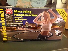 *** MASSAGING HOOP EXERCISER ***